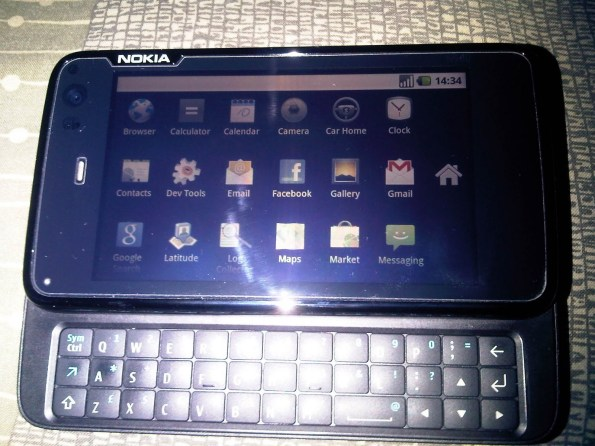 N900 rodando Android